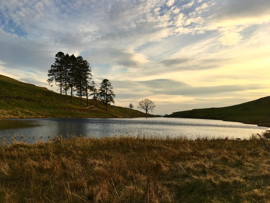 Mountain Lake in Lake District